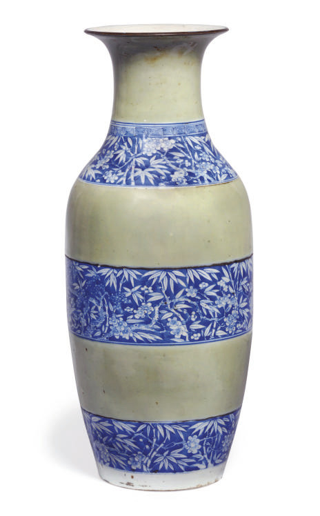 A Chinese underglaze blue and