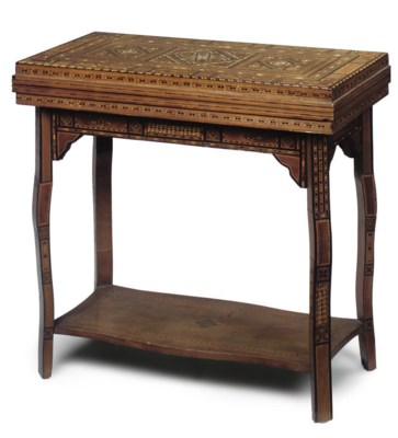 A DAMASCAN PARQUETRY AND MARQU