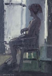 Seated girl