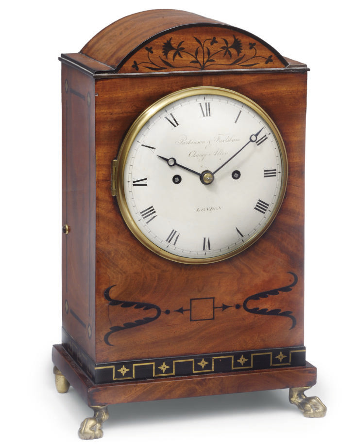 A George IV mahogany striking