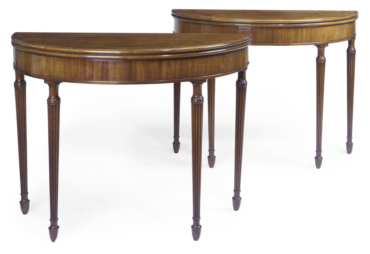 A PAIR OF REGENCY MAHOGANY SEM