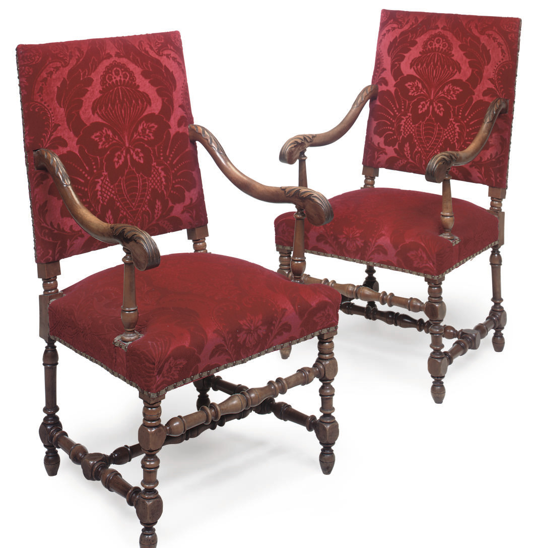 A PAIR OF FRENCH OR NORTH ITAL