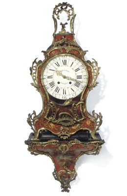 A LOUIS XV STRIKING ORMOLU, RE