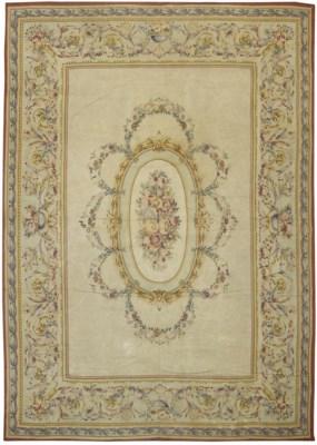 A fine Aubusson carpet, France