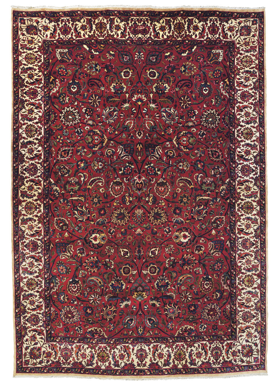 A fine Meshed carpet, North-Ea
