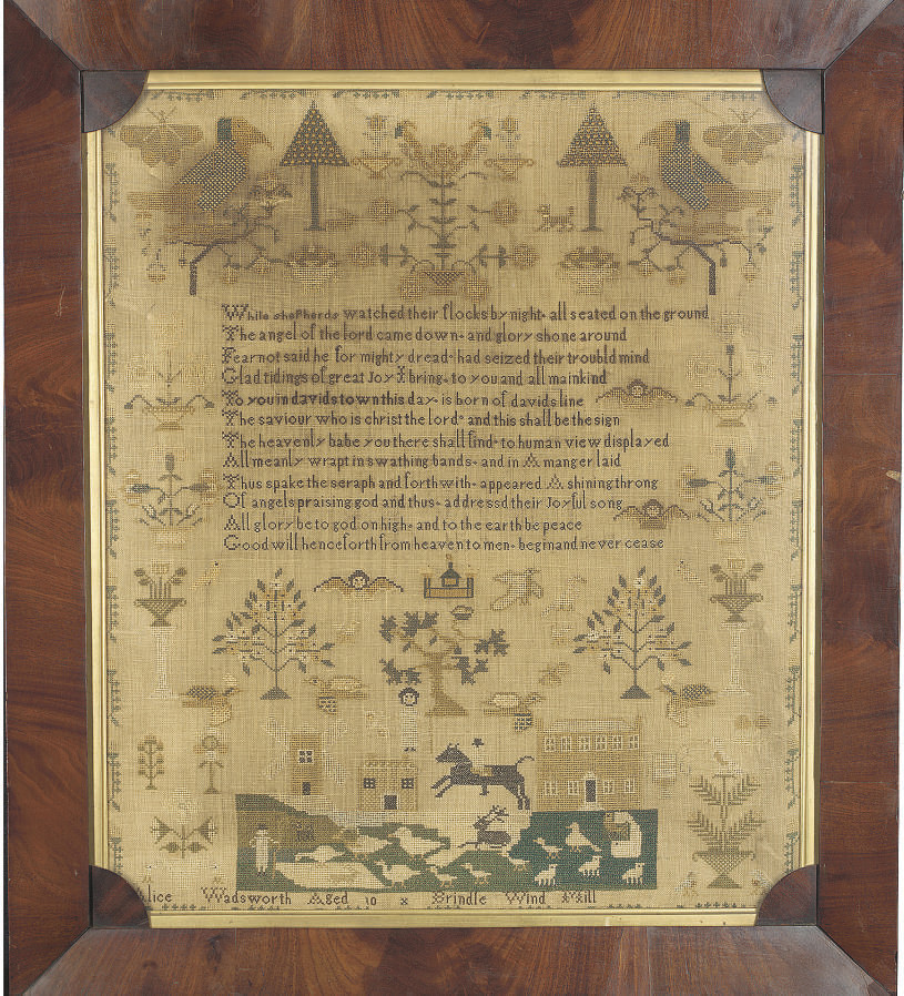 A LARGE SAMPLER BY ALICE WADSW