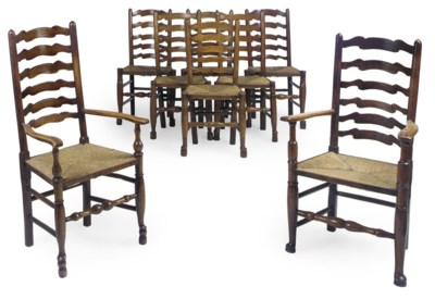 A MATCHED SET OF EIGHT CHESHIR