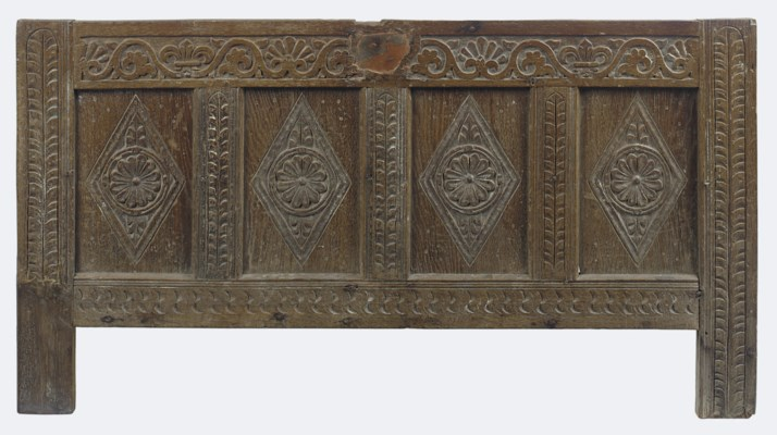 A WEST COUNTRY OAK FOUR PANEL