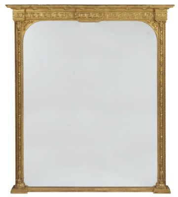 A LATE VICTORIAN GILTWOOD OVER