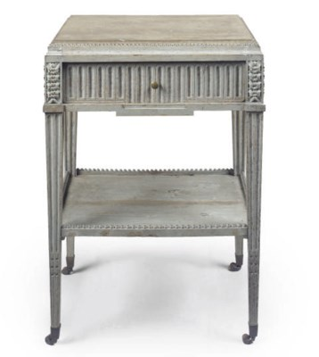 A GUSTAVIAN PAINTED OCCASIONAL