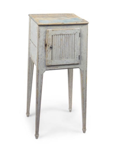 A GUSTAVIAN GREY AND BLUE PAIN