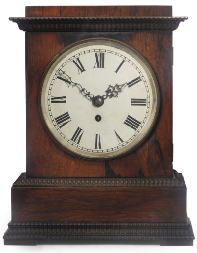 A Victorian rosewood eight day
