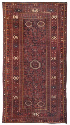 An antique Beshir small carpet