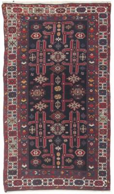 A fine Kuba rug