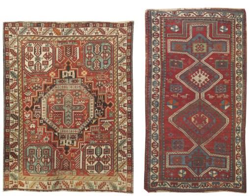 A Shirvan rug & Kazak prayer r