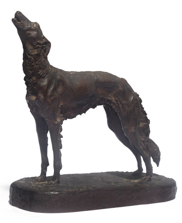 A FRENCH BRONZE MODEL OF A BOR