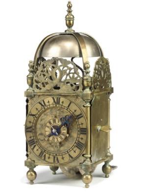 An English miniature brass tim