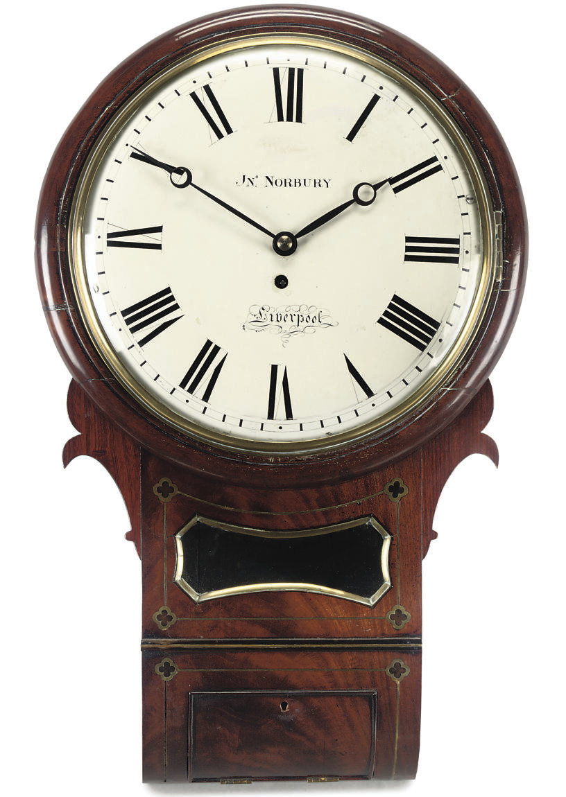 A George IV eight day timepiec
