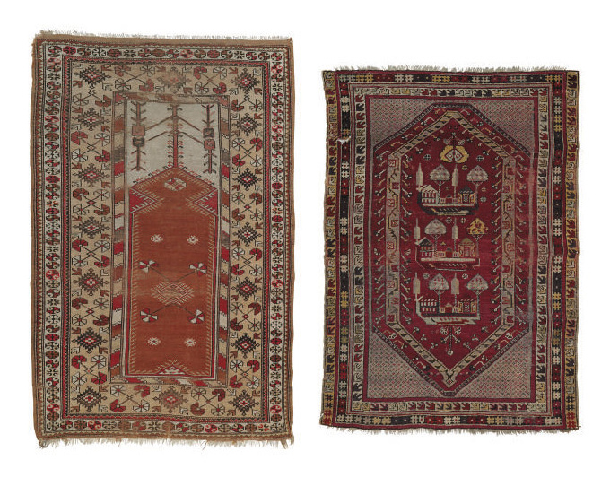 A lot of two antique Turkish r
