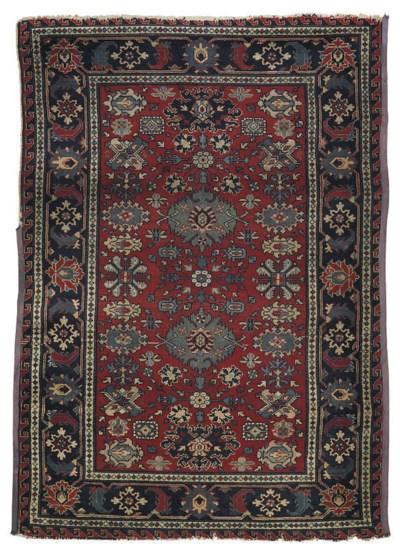 An antique Kuba rug & Erevan r