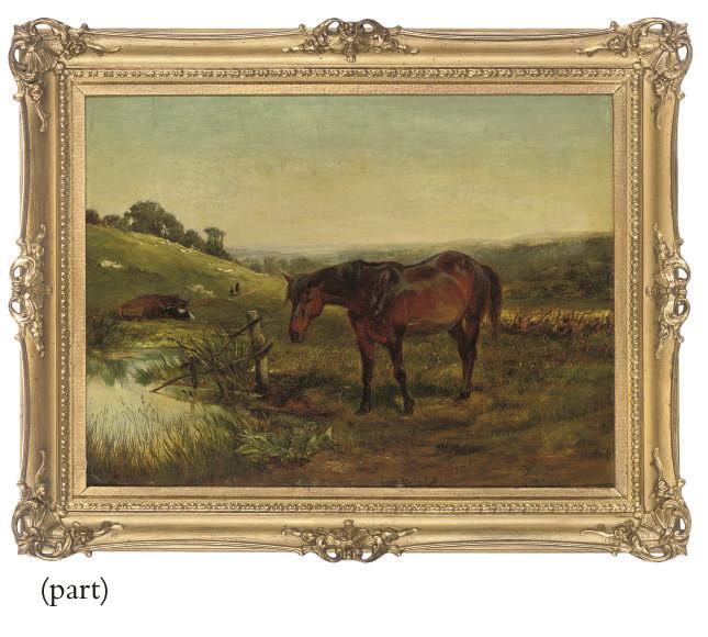 A horse watering, Keynsham, Bath
