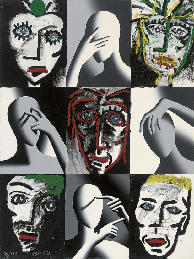 Mark Kostabi (American, b.1960