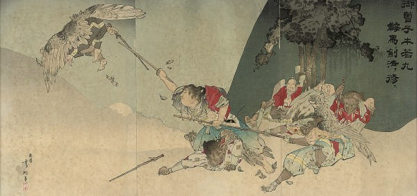 Five Japanese triptychs and a