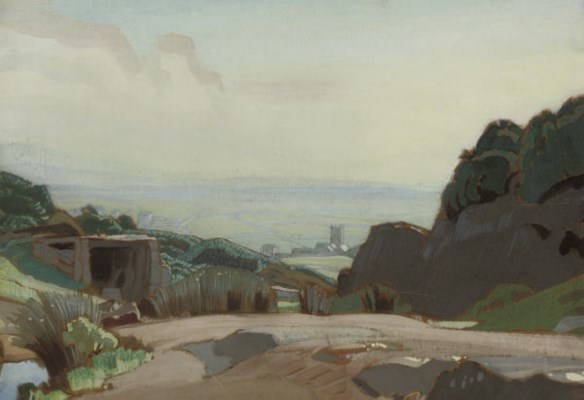 Charles March Gere, R.A., R.W.