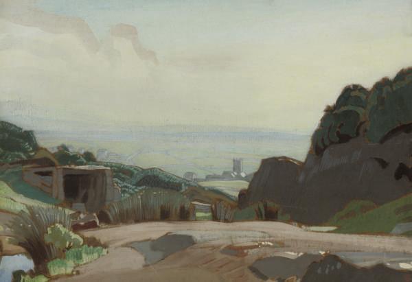 Towards the church, Zennor