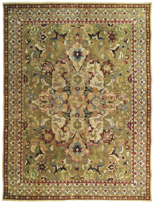 An European carpet of Polonais