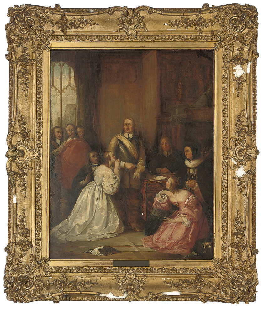 Cromwell's Family, Interceding for the Life of Charles I