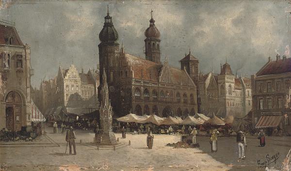 August Von Siegen (German, b.