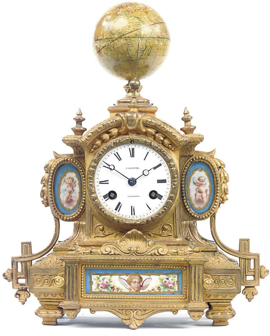 An unusual Napoleon III gilt-s