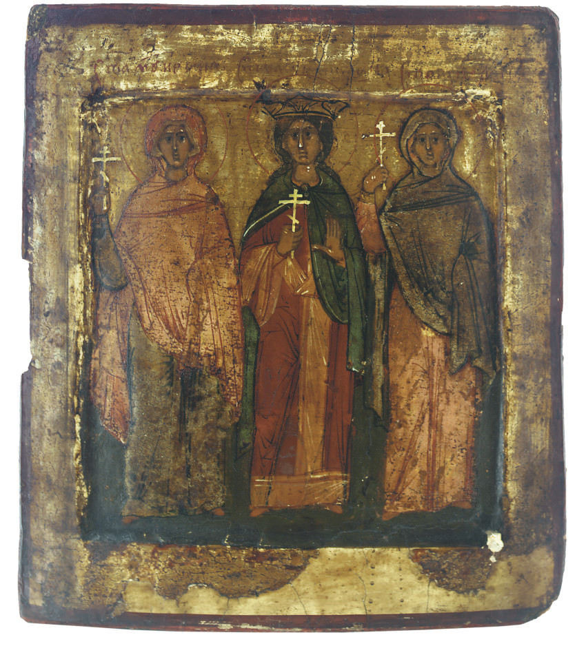 THREE FEMALE MARTYRS