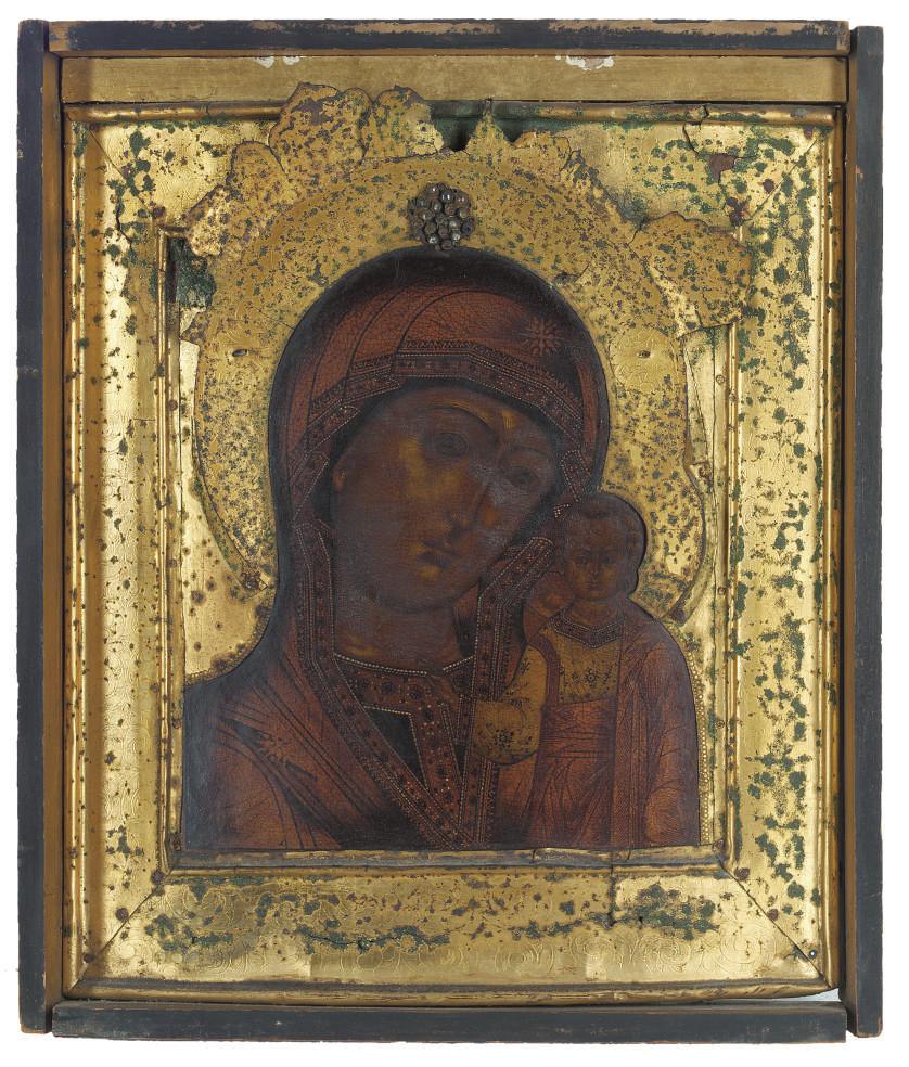THE KAZANSKAYA MOTHER OF GOD W