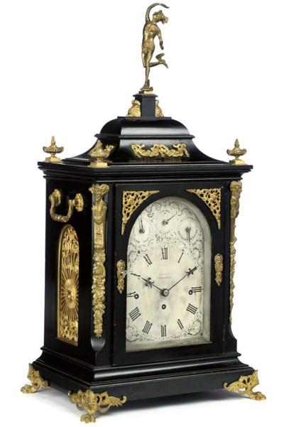 A Victorian large gilt-brass m