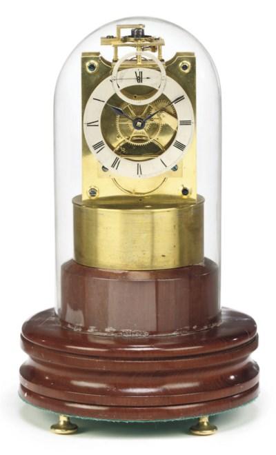 A brass eight day chronometer