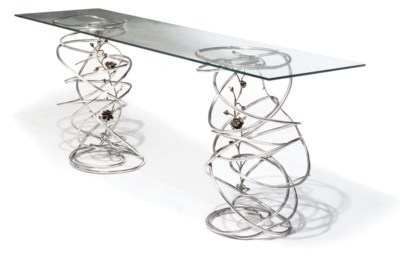 A GIUSSEPPE LUND CONSOLE TABLE