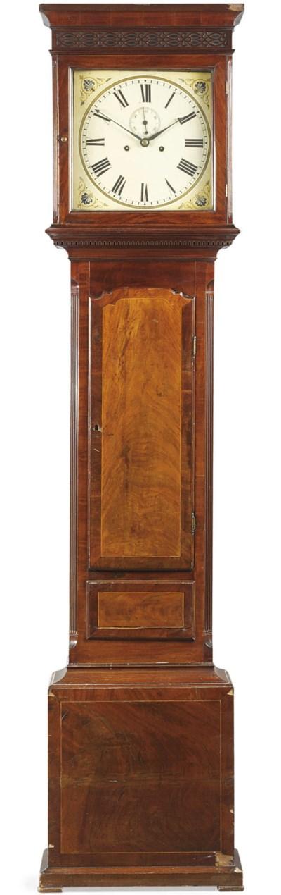 A Victorian mahogany striking