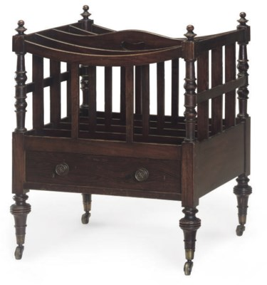 A REGENCY SIMULATED ROSEWOOD F