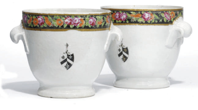 A PAIR OF CHINESE ARMORIAL WIN