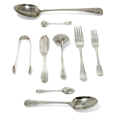 A COLLECTED SILVER OLD ENGLISH