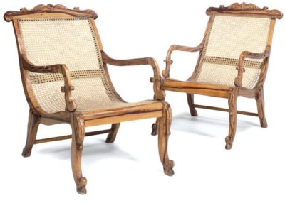 A PAIR OF ANGLO CEYLONESE HARD