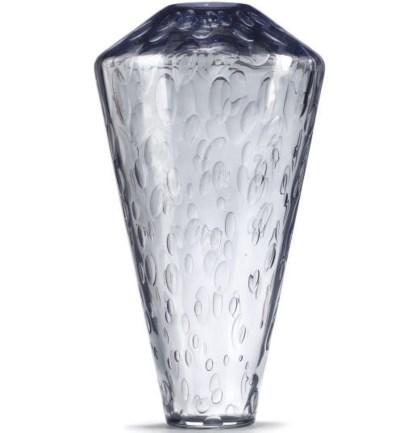 A MODERN GLASS VASE DESIGNED B