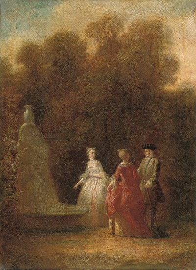 Manner of Nicolas Lancret
