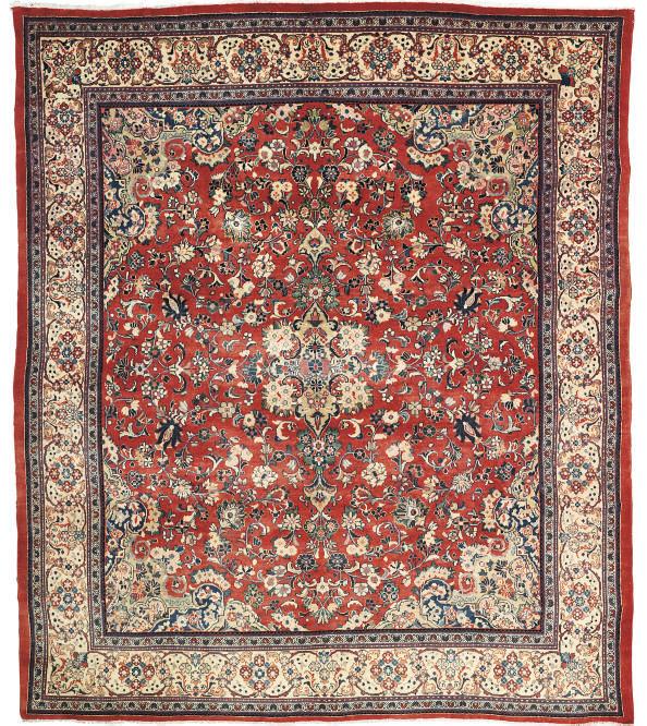 A fine Sarouk-Mahal carpet