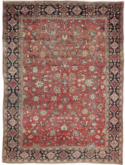 A Sarouk-Mahal carpet