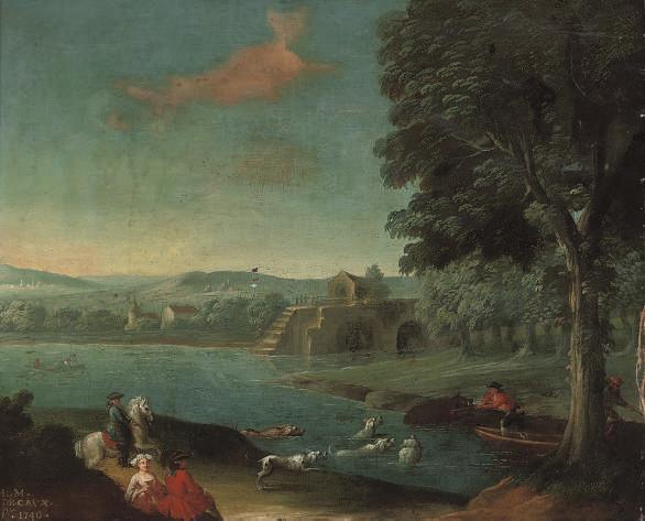 L. M. de Caux (18th Century)