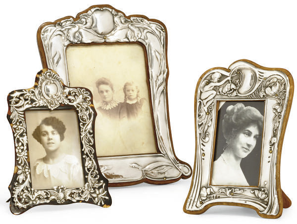 A GROUP OF THREE LATE VICTORIA