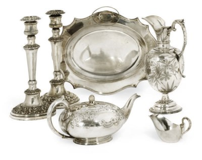 A GROUP OF GOOD VICTORIAN PLAT